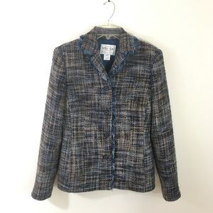 Oscar by Oscar de la Renta tweed jacket Size 8